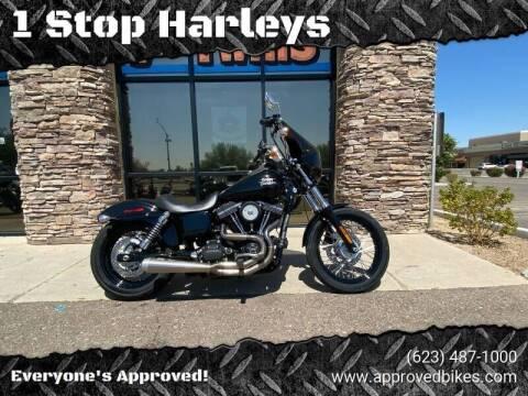 2014 Harley-Davidson Street-Bob for sale at 1 Stop Harleys in Peoria AZ