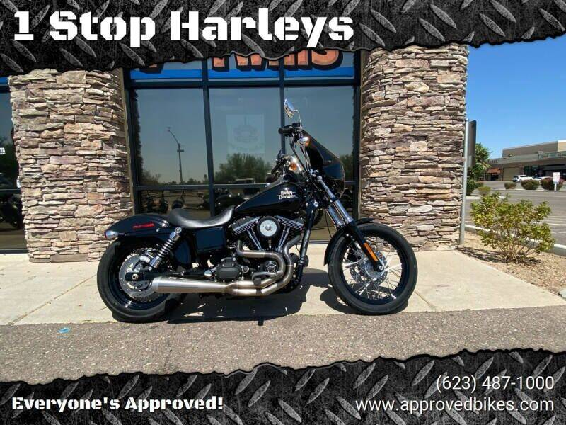 2014 Harley-Davidson Street-Bob for sale at 1 Stop Harleys in Peoria AZ
