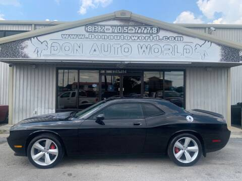 2009 Dodge Challenger for sale at Don Auto World in Houston TX