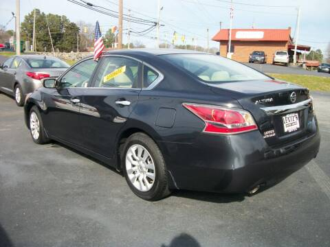 2014 Nissan Altima for sale at Lentz's Auto Sales in Albemarle NC
