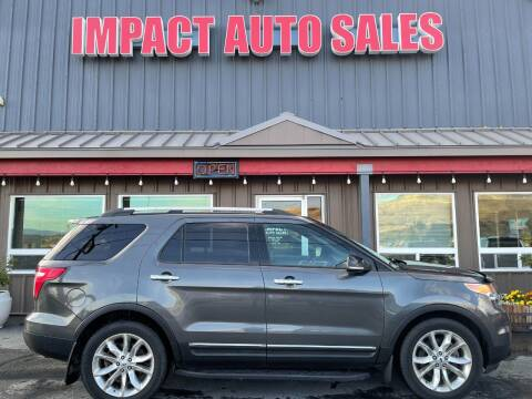 2015 Ford Explorer for sale at Impact Auto Sales in Wenatchee WA