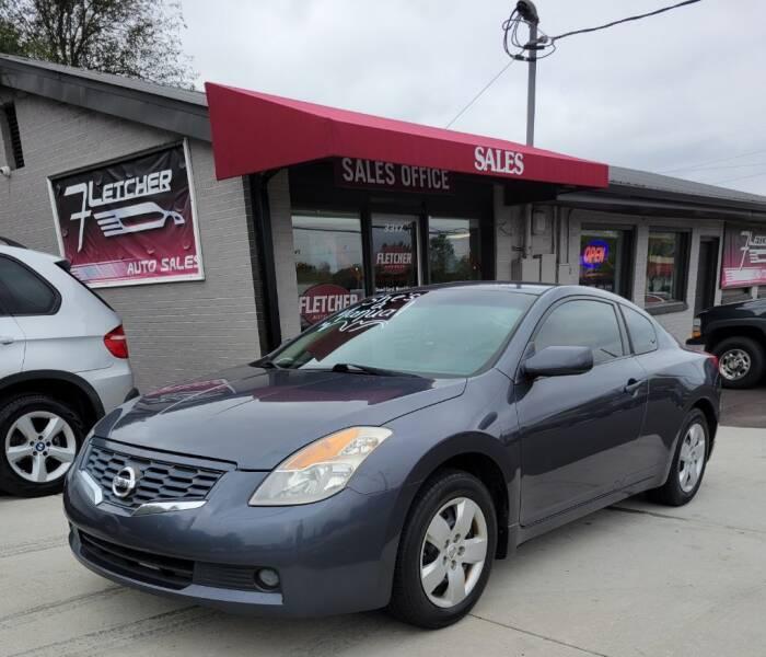 2008 Nissan Altima for sale at Fletcher Auto Sales in Augusta GA