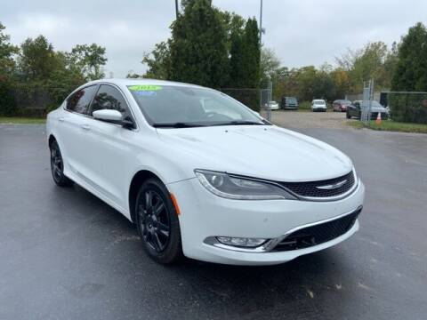 2015 Chrysler 200 for sale at Newcombs Auto Sales in Auburn Hills MI