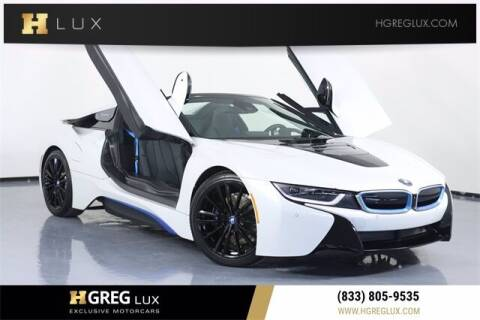 2019 BMW i8 for sale at HGREG LUX EXCLUSIVE MOTORCARS in Pompano Beach FL