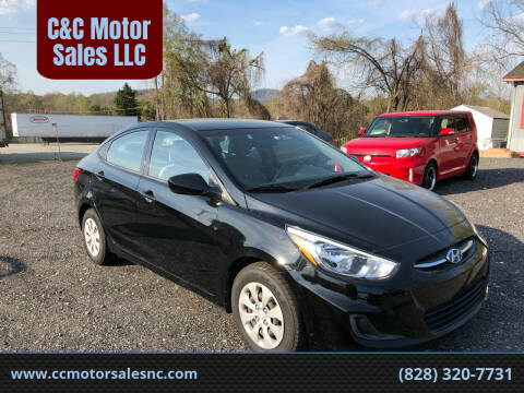 2016 Hyundai Accent for sale at C&C Motor Sales LLC in Hudson NC