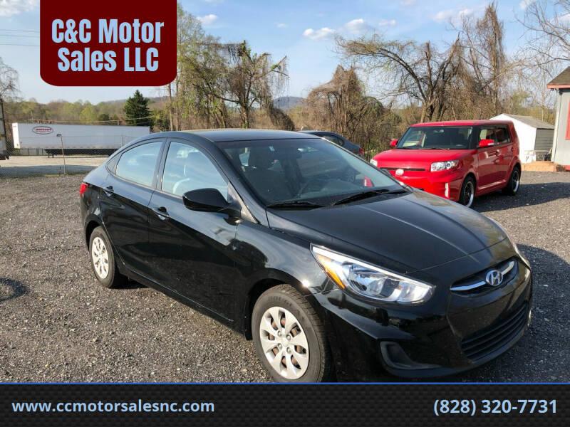 2016 Hyundai Accent for sale at C&C Motor Sales LLC in Hudson NC