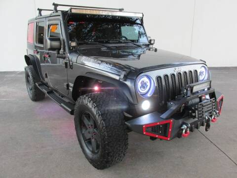 2014 Jeep Wrangler Unlimited for sale at QUALITY MOTORCARS in Richmond TX