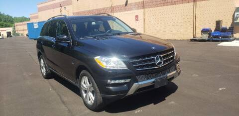 2012 Mercedes-Benz M-Class for sale at Fleet Automotive LLC in Maplewood MN
