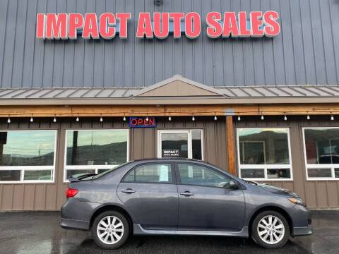 2010 Toyota Corolla for sale at Impact Auto Sales in Wenatchee WA