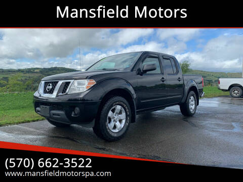2012 Nissan Frontier for sale at Mansfield Motors in Mansfield PA