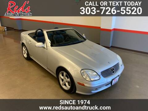 2004 Mercedes-Benz SLK for sale at Red's Auto and Truck in Longmont CO
