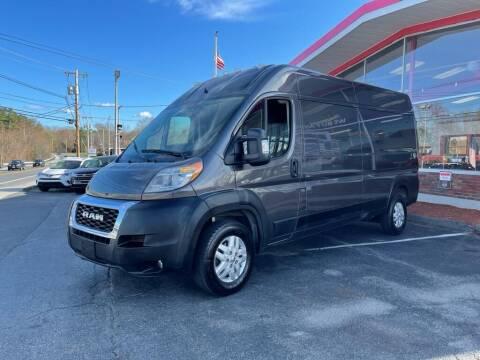 2019 RAM ProMaster Cargo for sale at USA Motor Sport inc in Marlborough MA
