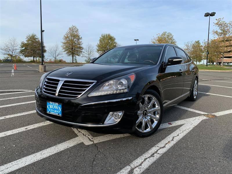 2013 Hyundai Equus for sale at Crown Auto Group in Falls Church VA