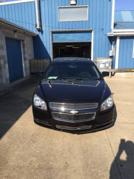 2012 Chevrolet Malibu for sale at New Rides in Portsmouth OH