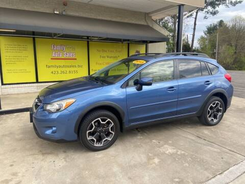 2015 Subaru XV Crosstrek for sale at Family Auto Sales of Johnson City in Johnson City TN