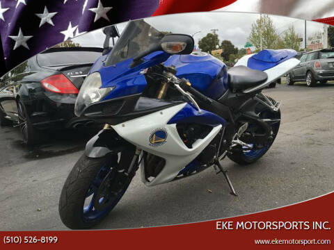 2007 Suzuki GSX-R600 for sale at EKE Motorsports Inc. in El Cerrito CA