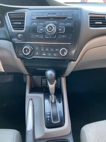 2013 Honda Civic LX 4dr Sedan 5A - Newark NJ