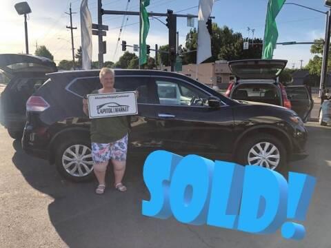 2015 Nissan Rogue for sale at Salem Auto Market in Salem OR