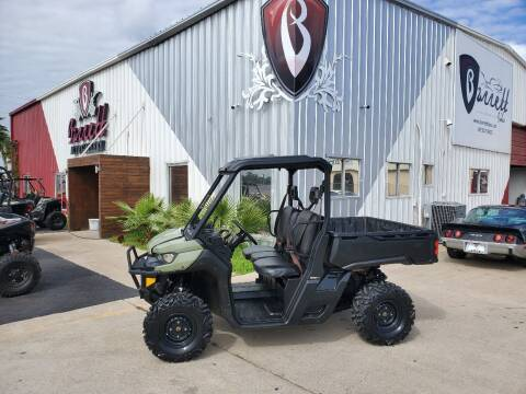 2018 CAN AM Defender HD8 for sale at Barrett Bikes LLC in San Juan TX