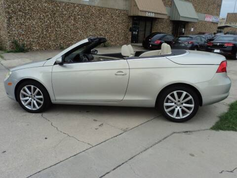 2009 Volkswagen Eos for sale at SPORT CITY MOTORS in Dallas TX