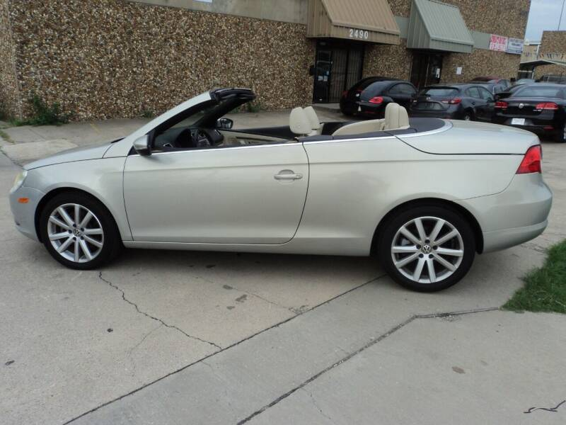 2009 Volkswagen Eos for sale at SPORT CITY MOTORS in Dallas TX