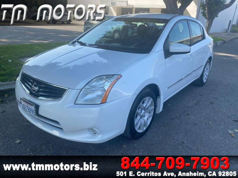 2011 Nissan Sentra for sale at TM Motors in Anaheim CA