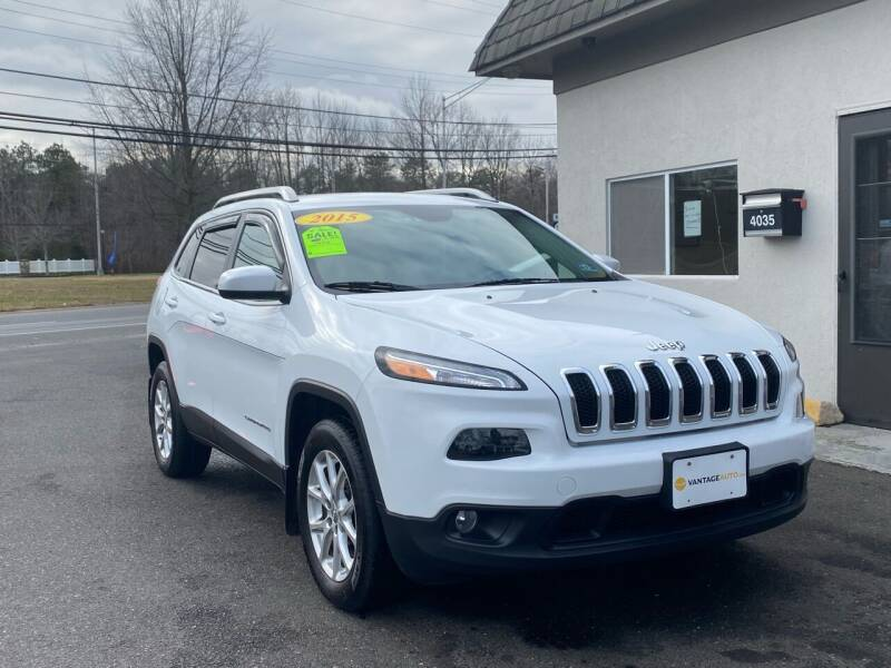 2015 Jeep Cherokee for sale at Vantage Auto Group in Tinton Falls NJ