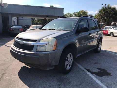 2005 Chevrolet Equinox for sale at Popular Imports Auto Sales in Gainesville FL