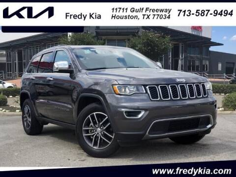 2018 Jeep Grand Cherokee for sale at FREDY KIA USED CARS in Houston TX