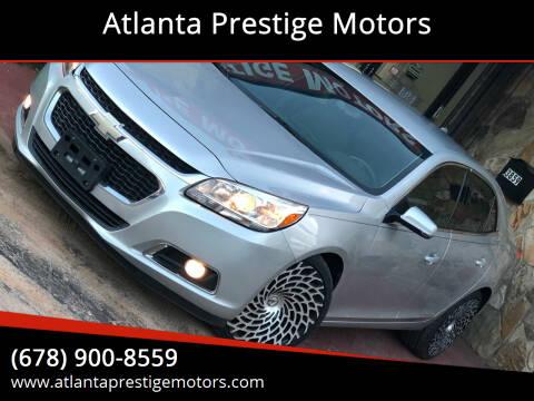 2014 Chevrolet Malibu for sale at Atlanta Prestige Motors in Decatur GA