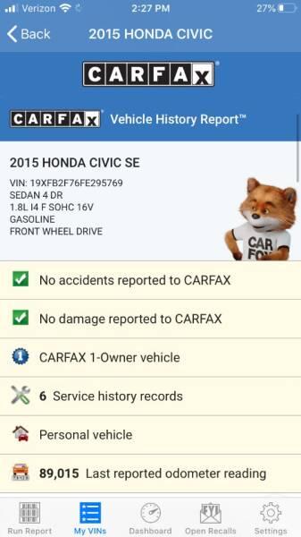 2015 Honda Civic SE 4dr Sedan - Portland OR
