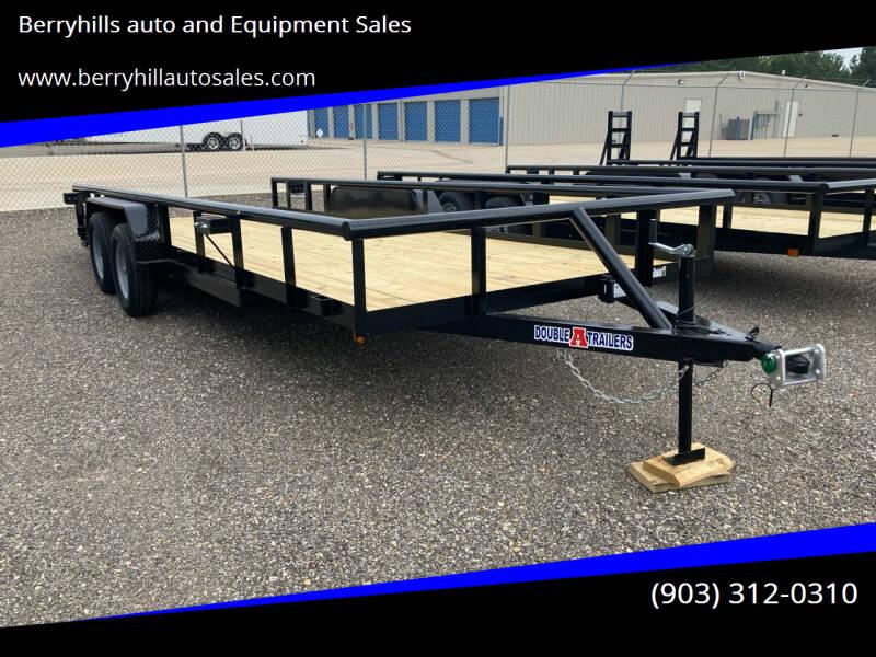 2021 Double A  83 X 20 T/A 3500# for sale in Flint, TX