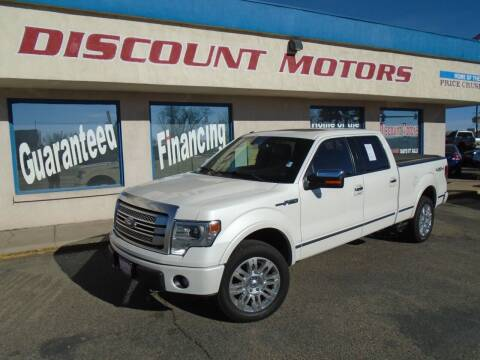 2013 Ford F-150 for sale at Discount Motors in Pueblo CO