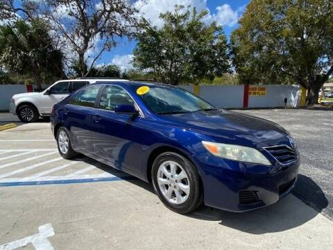2011 Toyota Camry for sale at Used Cars of SWFL in Fort Myers FL