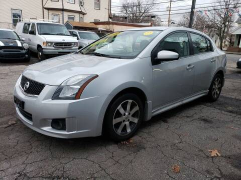2012 Nissan Sentra for sale at Devaney Auto Sales & Service in East Providence RI