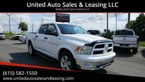 2012 RAM Ram Pickup 1500 for sale at United Auto Sales & Leasing LLC in La Vergne TN