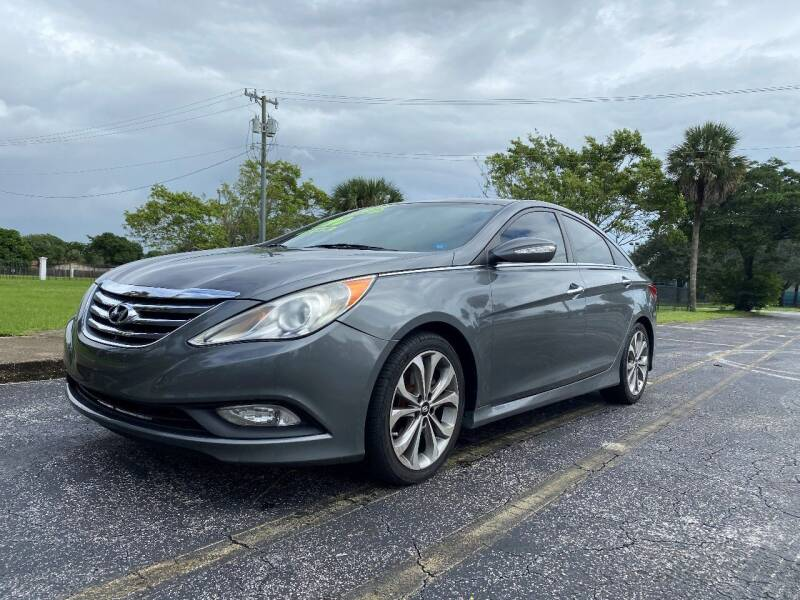 2014 Hyundai Sonata for sale at Lamberti Auto Collection in Plantation FL