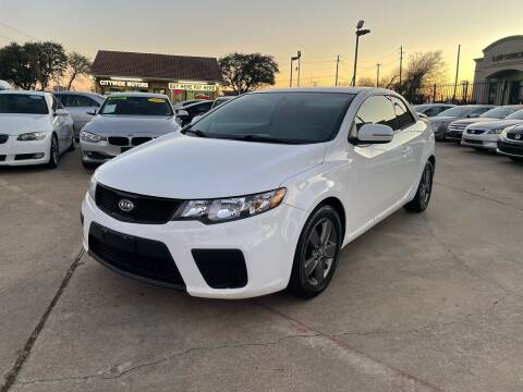 2012 Kia Forte Koup for sale at CityWide Motors in Garland TX