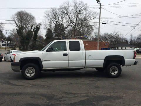 2004 Chevrolet Silverado 2500HD for sale at Diamond Auto Sales in Lexington NC