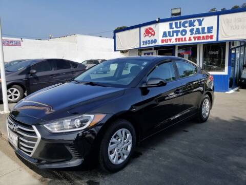 2017 Hyundai Elantra for sale at Lucky Auto Sale in Hayward CA