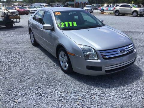 2008 Ford Fusion for sale at K & E Auto Sales in Ardmore AL