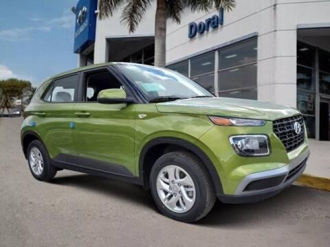 2021 Hyundai Venue for sale at DORAL HYUNDAI in Doral FL
