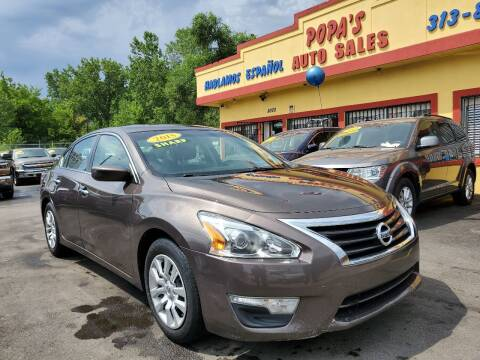2015 Nissan Altima for sale at Popas Auto Sales in Detroit MI