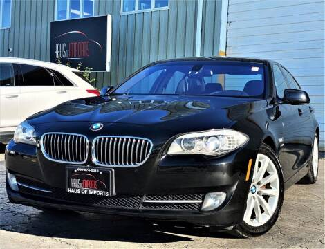 2012 BMW 5 Series for sale at Haus of Imports in Lemont IL
