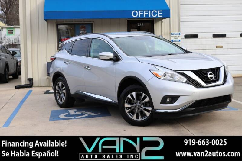 2017 Nissan Murano for sale at Van 2 Auto Sales Inc in Siler City NC