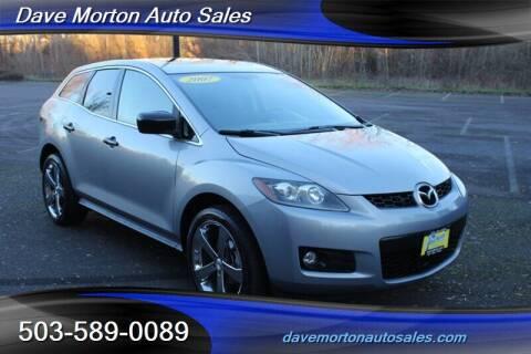 2007 Mazda CX-7 for sale at Dave Morton Auto Sales in Salem OR