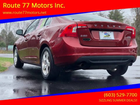 2012 Volvo S60 for sale at Route 77 Motors Inc. in Weare NH