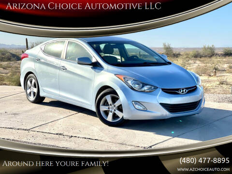 2012 Hyundai Elantra for sale at Arizona Choice Automotive LLC in Mesa AZ