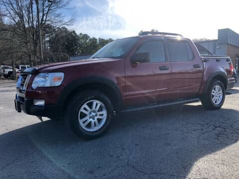 2010 Ford Explorer Sport Trac for sale at GTO United Auto Sales LLC in Lawrenceville GA