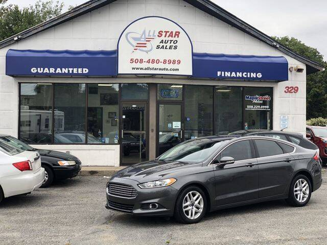2015 Ford Fusion for sale at All Star Auto  Cycle in Marlborough MA